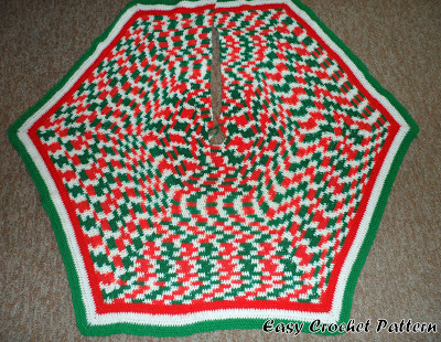 Crochet Your Christmas Tree Skirt 21 Free Patterns Grandmothers