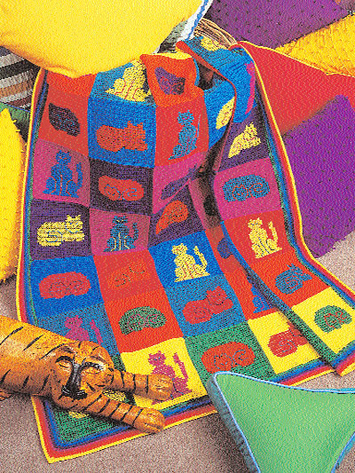 Reader Request ? A Cat Afghan to Crochet ? 7 free patterns ...