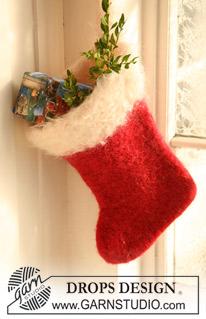 Knitted Christmas Stocking Pattern Books : free knit Christmas stocking patterns   Grandmothers ...