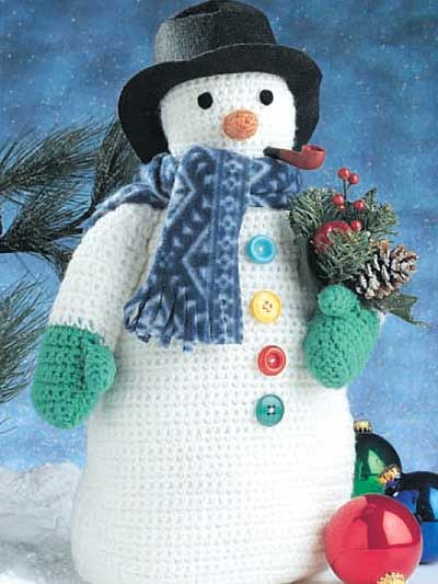 Let It Snow Snowflake And Snowman Designs To Crochet 30