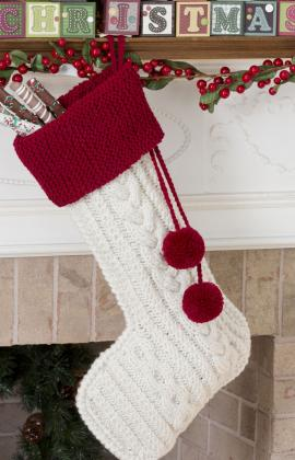 Knit Christmas Stockings – 17 free patterns – Grandmother's ...