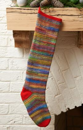 Knit Christmas Stockings   17 free patterns   Grandmothers Pattern Book
