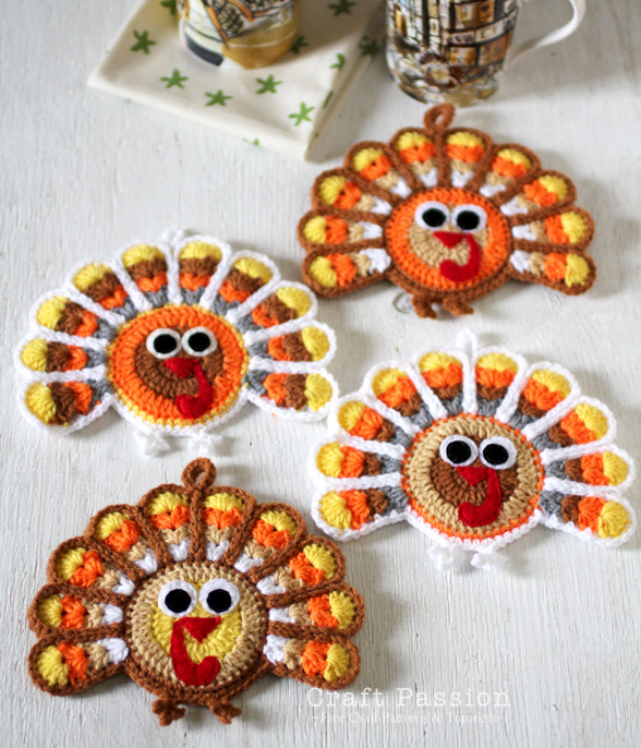 More crochet for thanksgiving free patterns for Crochet crafts for kids