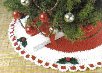 Crochet Your Christmas Tree Skirt 21 Free Patterns
