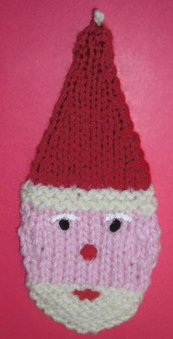 Knit Santa! Dolls, Hats, Mittens, Ornaments, More   27 free patterns   Grandm...