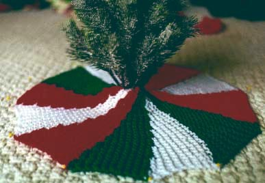 Knit Your Christmas Tree Skirt 9 Free Patterns Grandmothers