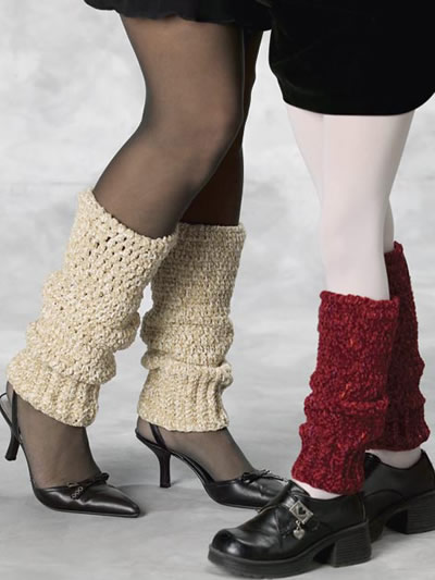 Crochet Leg Warmers : Nice! Legwarmers to Crochet - 14 free patterns - Grandmothers ...