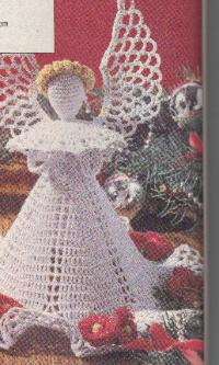 Lovely Crochet Angels Free Patterns Grandmothers Pattern Book