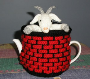 Fester - the Goat in the Well Tea Cosy