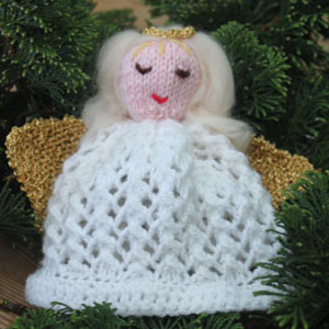 Knitting Pattern Angel : Angels to Knit   22 free patterns   Grandmothers Pattern Book