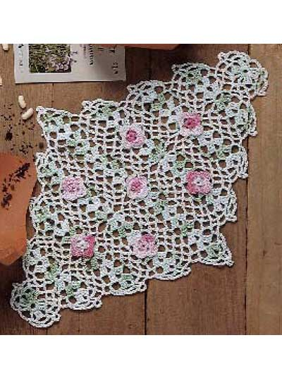 Beautiful Rose Doilies To Crochet Free Patterns Grandmothers