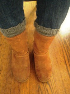Boot Cuff - Front