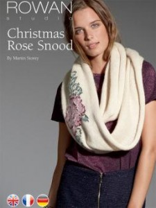 Christmas Rose Snood cover