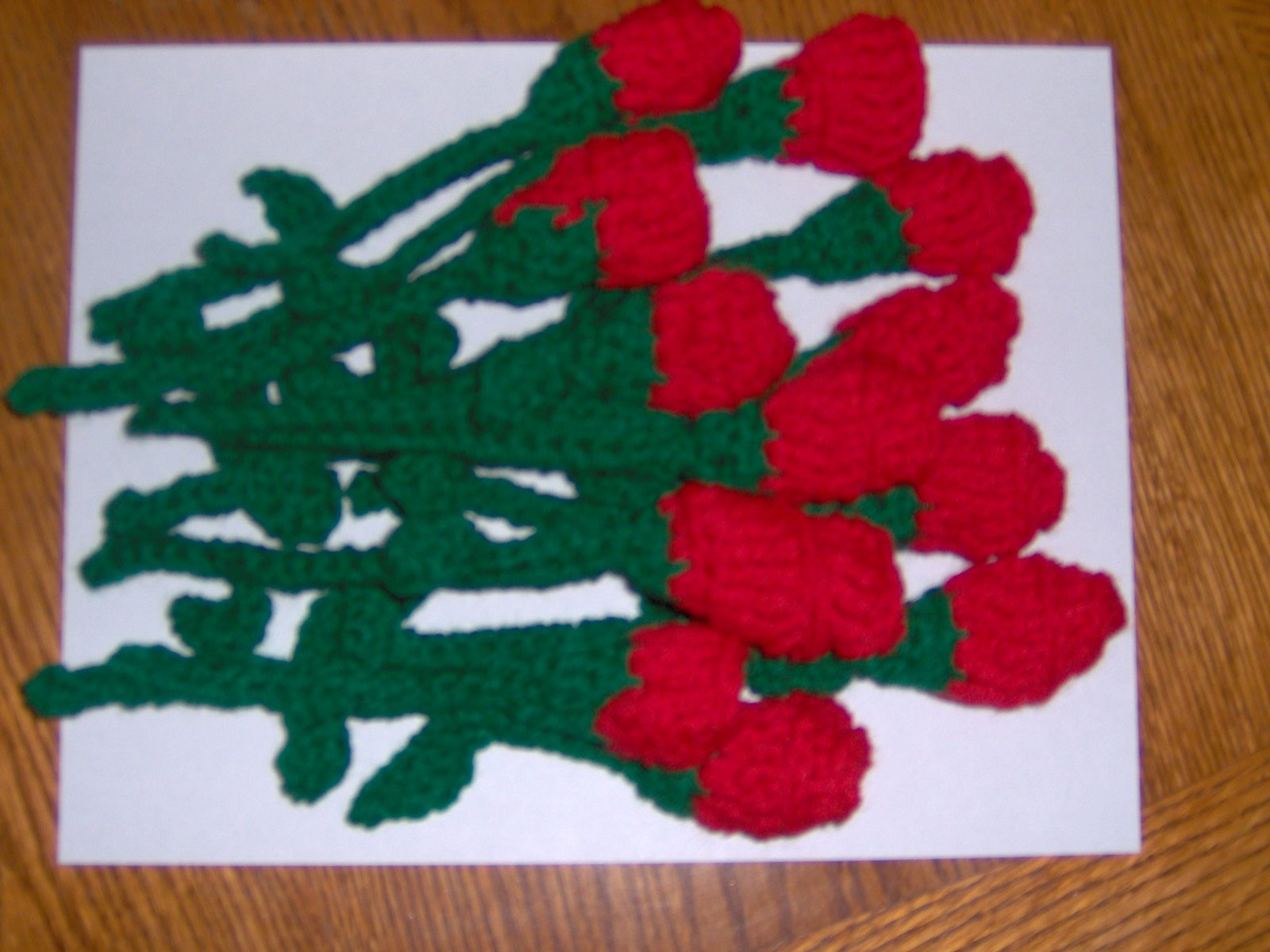 Free Crochet Long Stem Rose Pattern : Lovely Roses to Crochet ? 26 free patterns ? Grandmothers ...