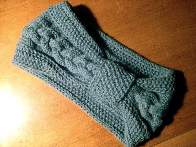 Free Knitting Pattern Headband : Quick and Warm   Ski Bands and Headbands to Knit   24 free patterns   Grandmo...