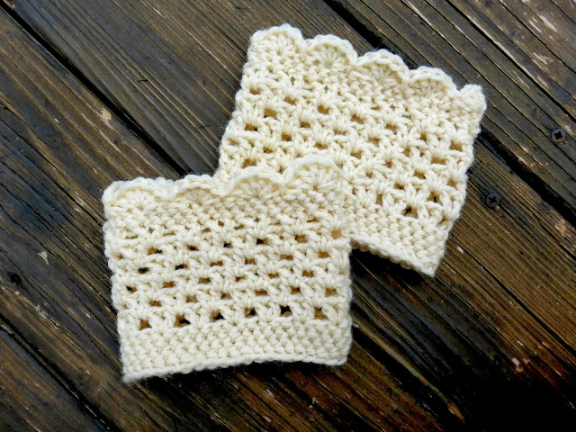 Crochet Boot Cuffs and Toppers – 19 free patterns – Grandmother\'s ...