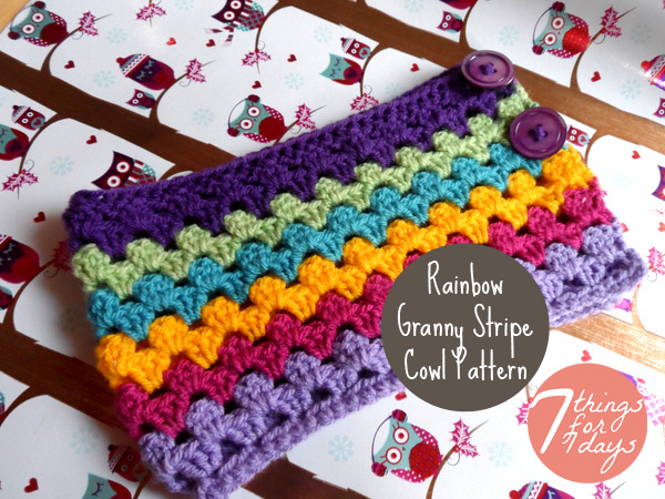 More Rainbows to Crochet ? 21 free patterns ? Grandmother ...