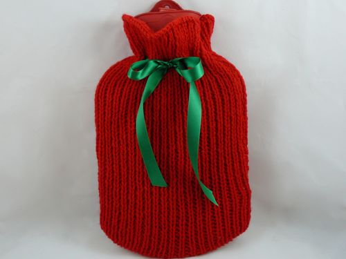 Hot Water Bottle Cozies to Knit   26 free patterns   Grandmothers Patter...