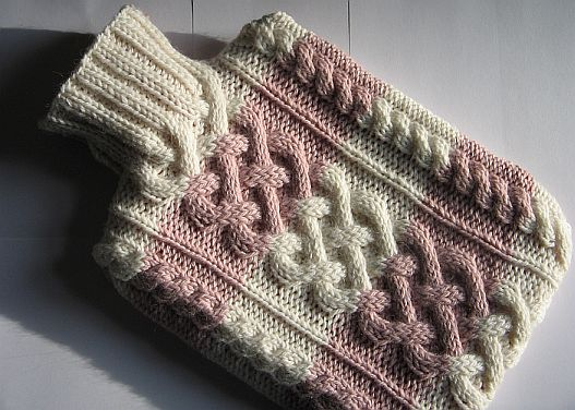 Hot Water Bottle Cozies to Knit   26 free patterns ...