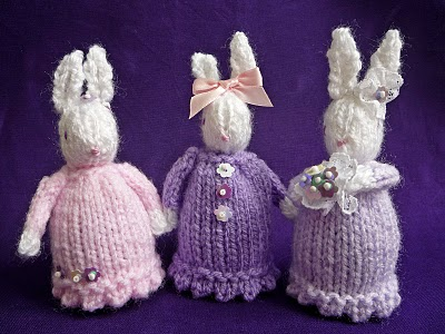 Bunnies to Knit - 26 free patterns - Grandmother's Pattern ...