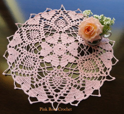 Lovely Heart Doilies to Crochet – 14 free patterns – Grandmother\'s ...