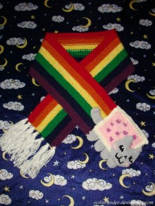 nyan_cat_scarf_by_collarander-d3il7wk