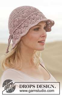 Crochet a Sun Hat for Spring and Summer – 29 free patterns from Garn ... 7050acbc8ef
