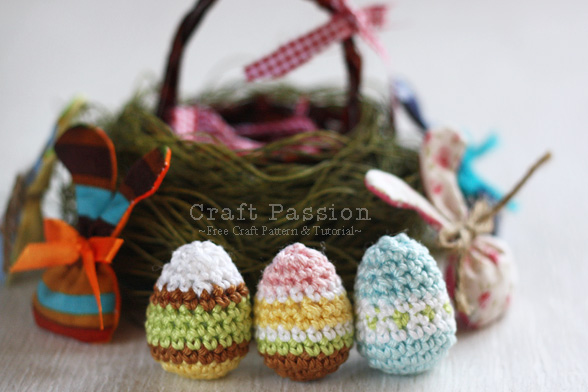 Crochet Easter Eggs 24 Free Patterns Grandmothers Pattern Book