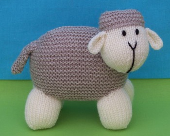 Knitting Pattern For Lamb Free : More Lambs to Knit   22 free patterns   Grandmothers Pattern Book