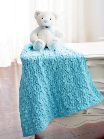 The Sweetest Baby Blankets to Knit for Spring - 23 free ...
