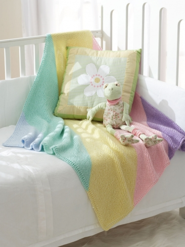 The Sweetest Baby Blankets to Knit for Spring   26 free ...