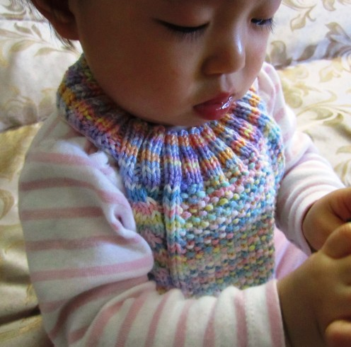 Cute, Handsome or Pretty – Bibs to Knit for Baby – free patterns ...