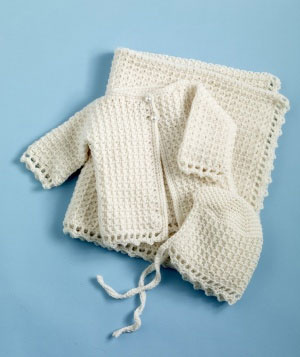 Christening Sets To Crochet For Baby 9 Free Patterns