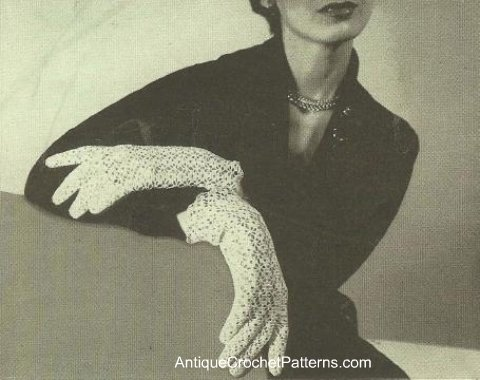 Free Crochet Patterns Lace Gloves : Reader Request ? Lacy Gloves to Crochet for Spring ? 9 ...