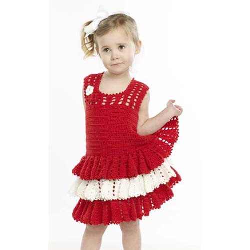 More Dresses to Knit and Crochet for Girls ages 6+ – 15 free patterns