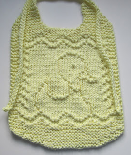 Cute, Handsome or Pretty   Bibs to Knit for Baby   free ...