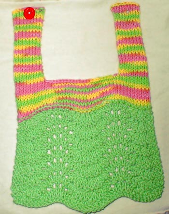 Free Knitting Patterns For Baby Bibs : Cute, Handsome or Pretty   Bibs to Knit for Baby   free patterns   Grandmothe...