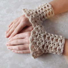 WRIST WARMERS CROCHET PATTERNS « Free Patterns