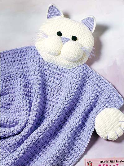 Cat Afghans to Knit and Crochet ? free patterns ...
