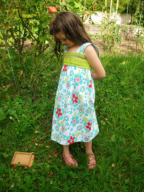 Knit And Crochet Yokes For Tops Dresses 11 Free Patterns