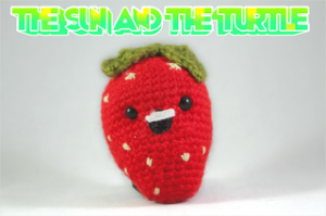 Amigurumi-Strawberry