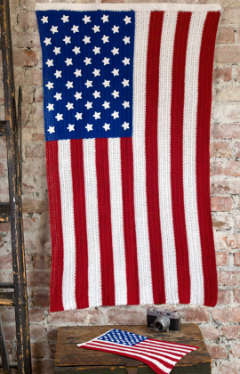 Crochet American Flag Scarf Pattern : Summer Crochet ? Red, White and Blue ? free patterns ...