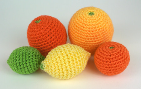 Amigurumi Lemon : Summertime Citrus Patterns to Crochet free Grandmother ...