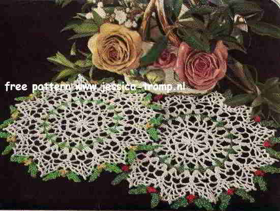 New ? More Christmas Doilies to Crochet ? 18 free patterns ...