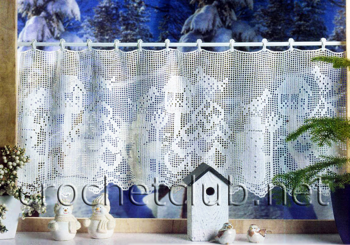 New More Filet Crochet Christmas Designs Free Patterns Grandmother S Pattern Book