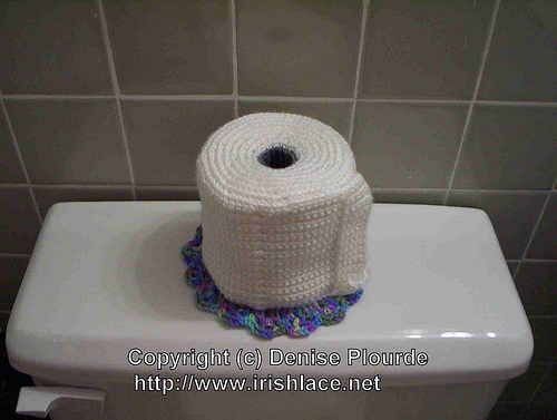 Knitting Pattern For Toilet Paper Holder : Reader Request   Bathroom Tissue Roll Dolls and Cozies   free patterns   Gran...