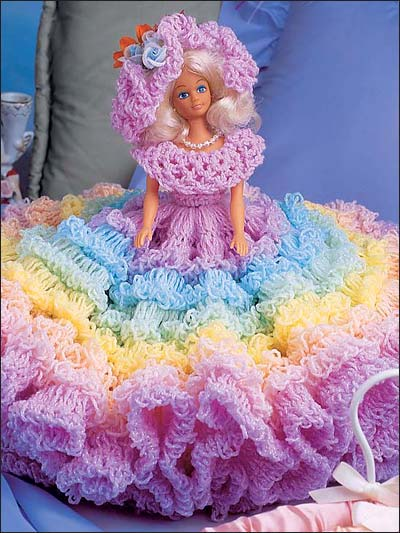 More Bed Dolls And Music Box Dolls To Crochet Free