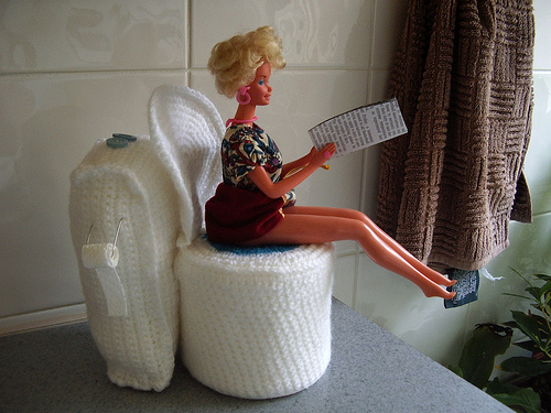 Reader Request   Bathroom Tissue Roll Dolls and Cozies   free patterns   Gran...