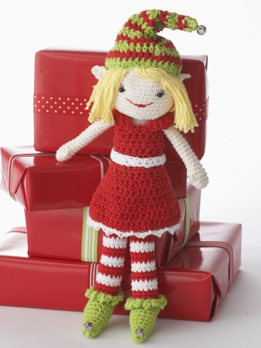 Crochet Christmas Dolls and Bears   free patterns ...