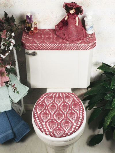 pineapple bathroom ensemble. Vintage Bathroom Sets to crochet   free patterns   Grandmother s